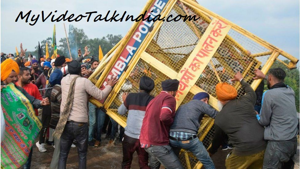 Video Protes Petani India Terhadap Kebijakan Pemerintah Setempat